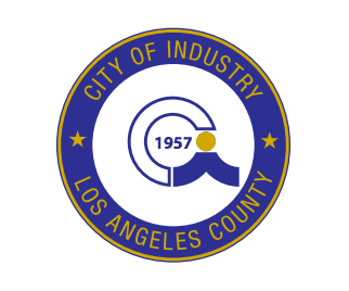 City Of Industry Paving Services Service Area Emblem